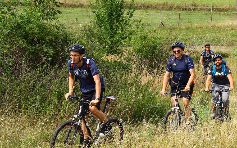 wycieczka rowerowa Biała Góra